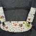 "Ergo360 Drool Bib & Drool Pad set  WITH TEETHING RING- ""Jungle babies """