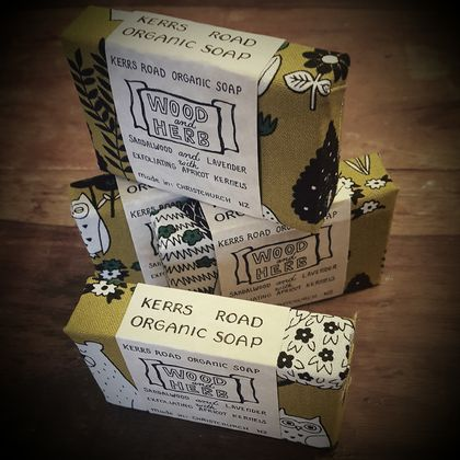 Wood and Herb Organic Soap