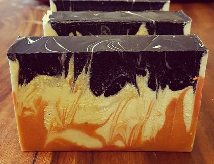 VOLCANO SOAP Activated Charcoal with Turmeric