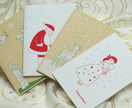 Screen printed Christmas Cards