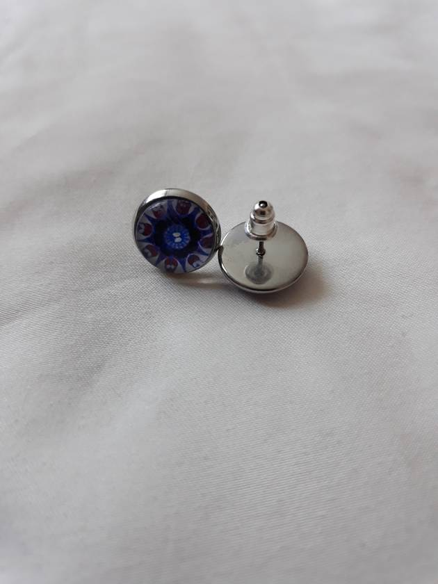 Beautiful hand crafted stud earrings