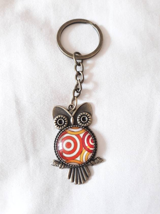 Handcrafted key ring