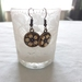 Handcrafted hanging earring