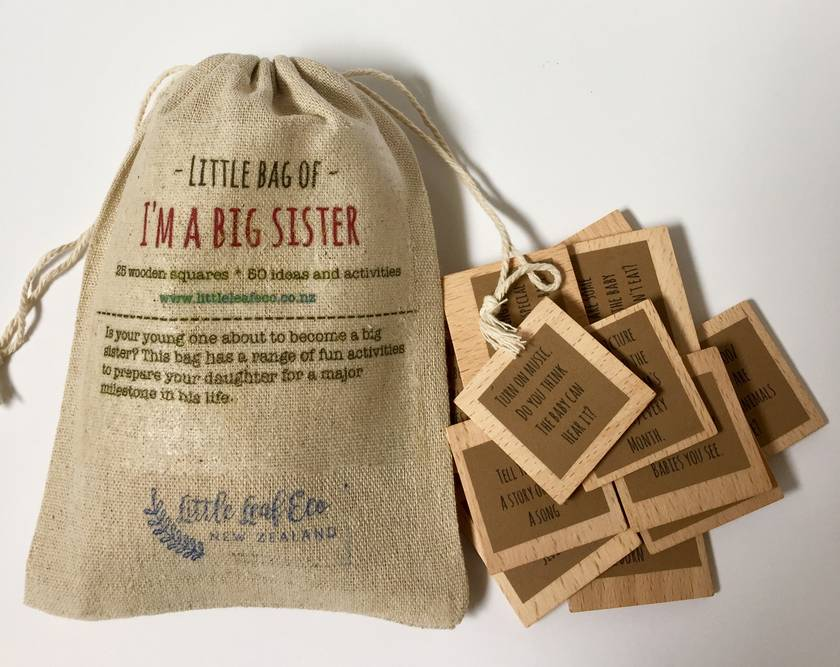 I'M A BIG SISTER- ACTIVITIES TO HELP YOUR DAUGHTER PREPARE TO BE A BIG SISTER