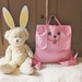 20% OFF SALE - PINK BUNNY BACKPACK