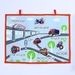 TRANSPORTATION FABRIC WALL CHART