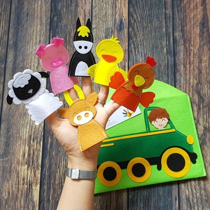 Finger Puppets - Old McDonald