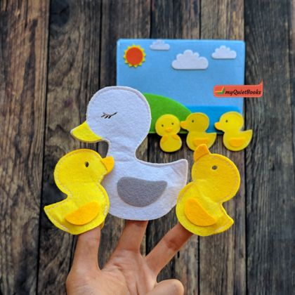 Finger Puppets - 5 Little Ducks