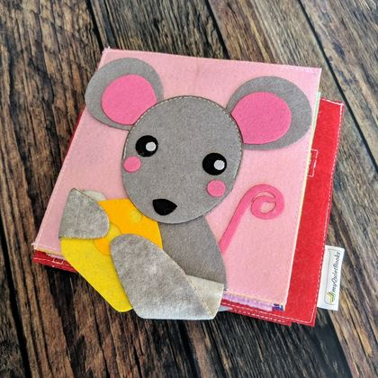 My Peek-a-boo Felt book