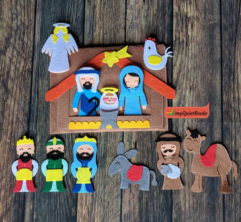 Finger Puppets - Nativity