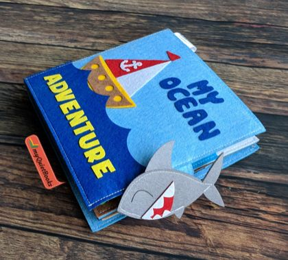 My Ocean Adventure felt book
