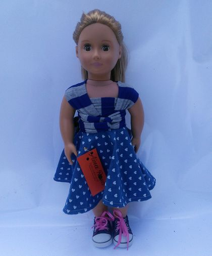 "Infinity dress fit 18""doll"