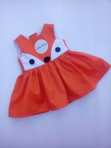 "Fox dress fit 18""doll"