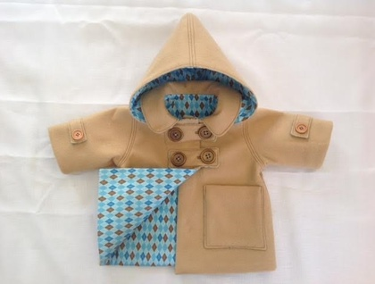 Duffle Coat Style Winter Jacket 3-6months
