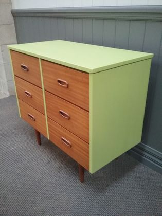 Upcycled retro drawers