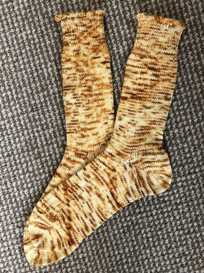 Hand made, Hand dyed Socks