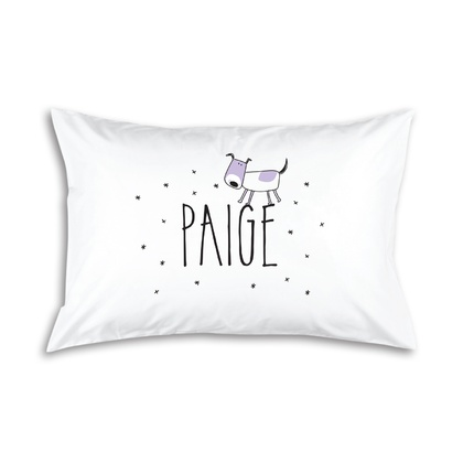 Puppy Personalised Pillowcase