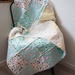 Snuggle Cot Quilt in Blues