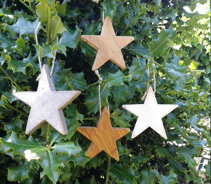 Twinkle twinkle little....Xmas? Set of 4 stars