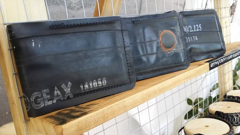Inner Tube Minimalists Wallet - Patched or printed