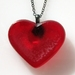 "Aniseed Heart Necklace - 18"" chain"