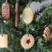 NZ Biscuit Christmas Decorations - Set of 6 (Green Pack)