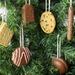 NZ Biscuit Christmas Decorations - Set of 6 (White Pack)