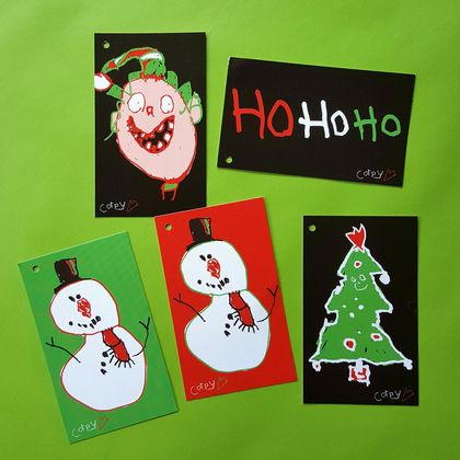 CHRISTMAS GIFT TAGS – PACK OF 10