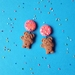 PRE ORDER – 100s & 1000s Chocolate Teddy Dangle Earrings