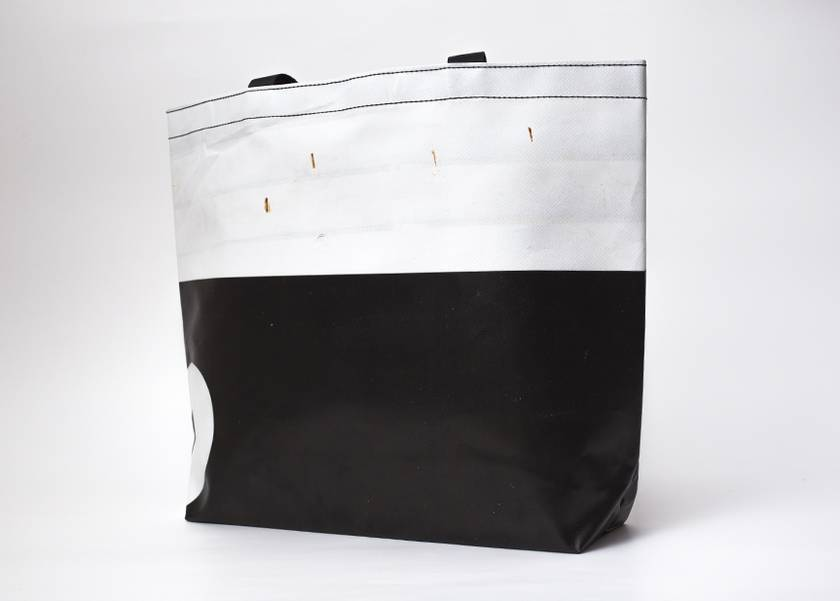 Upcycled billboard material Carry Bag