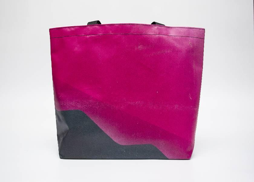 (Medium) Upcycled billboard material Carry Bag