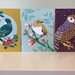"NZ designer greeting card pack ""Birds of a feather"""