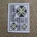 DEEPGREENINC Card- Small tapa inspired green