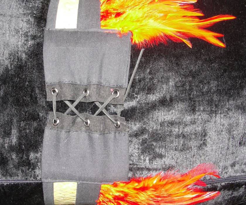 Ahi Elements cushion