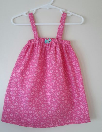 Cotton sun dress 12-18 months.