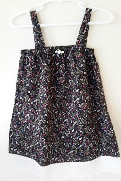 Cotton sun dress - 2 year old size