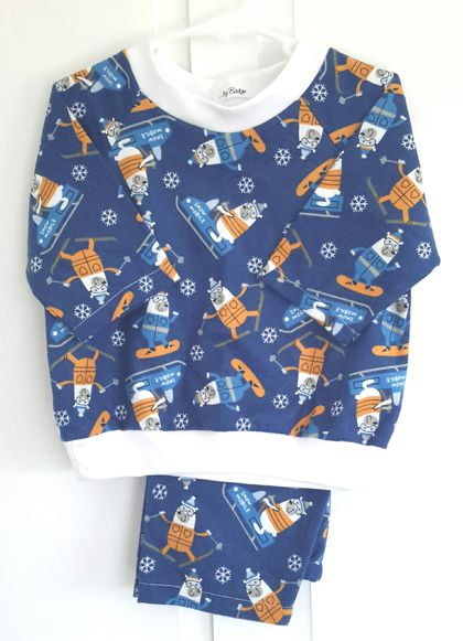 Winter pyjamas 12 month size