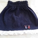Demin skirt. 12 mths.