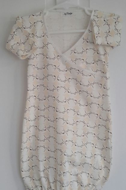 Pull On Nightie - knit fabric