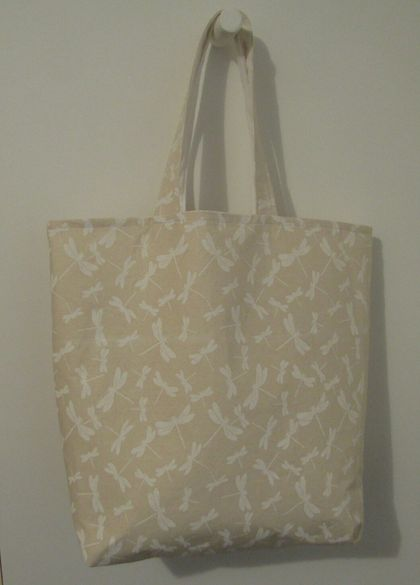 Fashion Tote Bag - Calico lining.