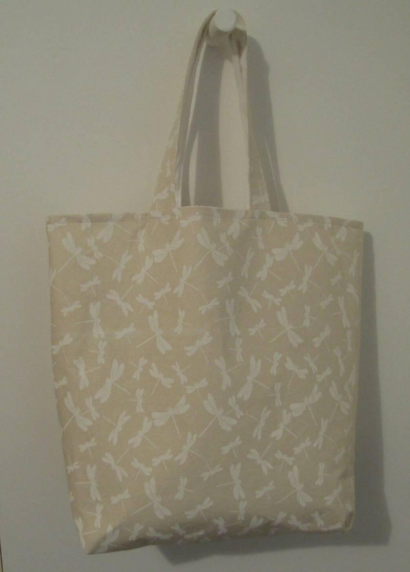 Fashion Tote Bag - Calico lining.
