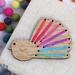 Piwakawaka Fridge Magnet Kit  ~ Modern DIY Silk Ribbon Embroidery Kit