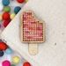 Summer Fruits Ice Block Magnet ~ Modern DIY Embroidery Kit