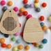 Blank Bamboo Teardrop Cross Stitch Blank  ~ Modern DIY Embroidery