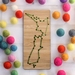 Aotearoa Fridge Magnet Kit  ~ Olive Green ~ Modern DIY Embroidery Kit