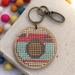 Camera Keyring  ~ Modern DIY Embroidery Kit