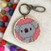 Koala Keyring  ~ Modern DIY Embroidery Kit