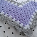 Pretty Lilac Poncho
