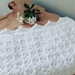 Soft and Snuggly Snowflake Baby Blanket - last one