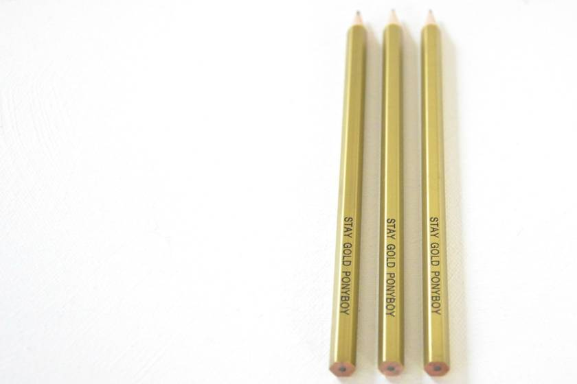 'Stay Gold Ponyboy': three witty pencils